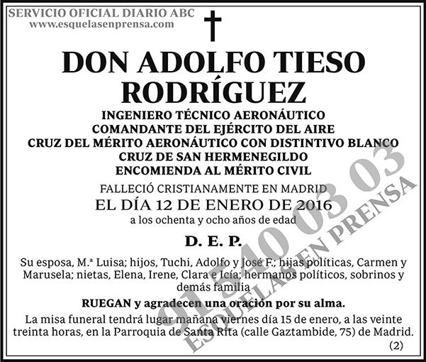 Adolfo Tieso Rodríguez